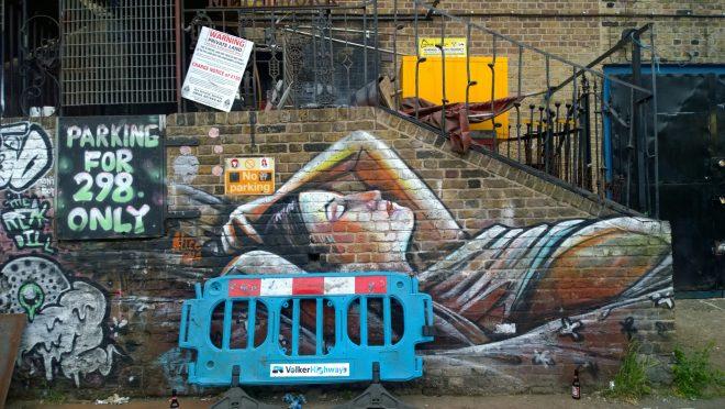 Alice Pasquini piece on Clare Street