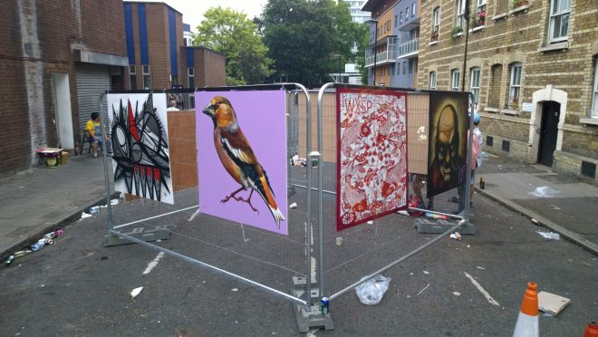 Artists on Whitecross Street
