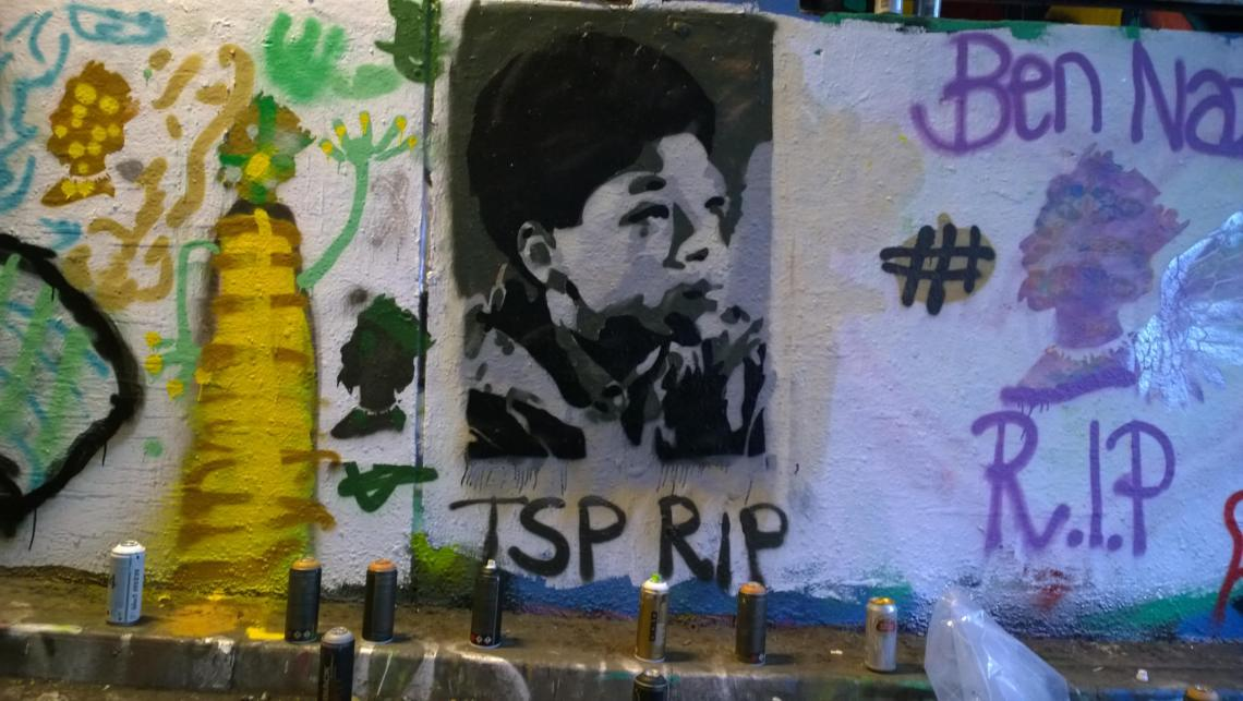 Lisart also paid tribute to Terry Sue-Patt who died earlier this year and who was also a member of SSOSVA