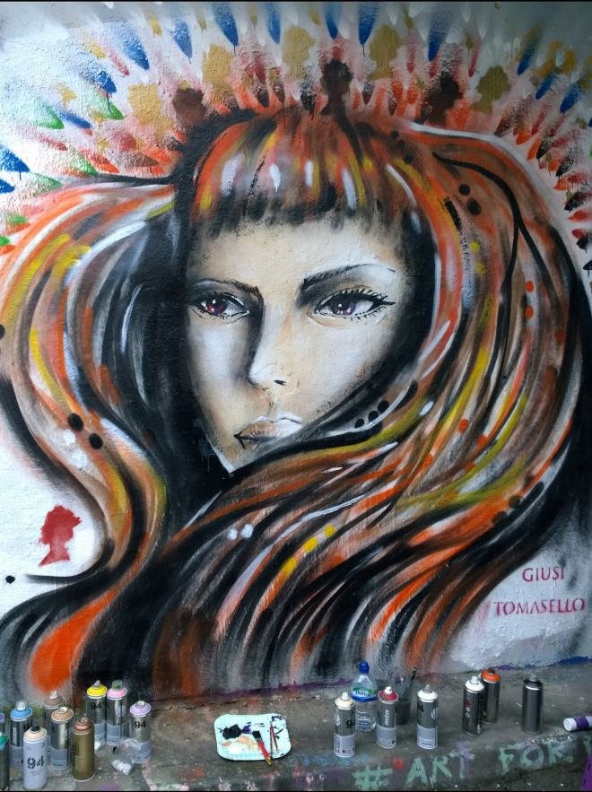 Popular Italian artist Giusi Tomasello