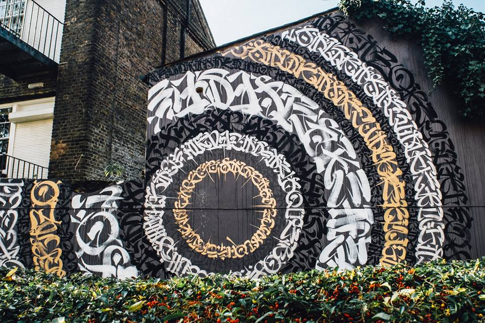 Said Donkins by Rodgrio Cervantes Street Art London