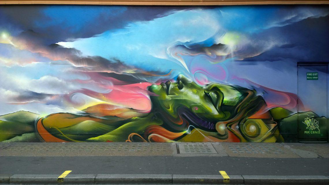 Mr. Cenz piece in Soho