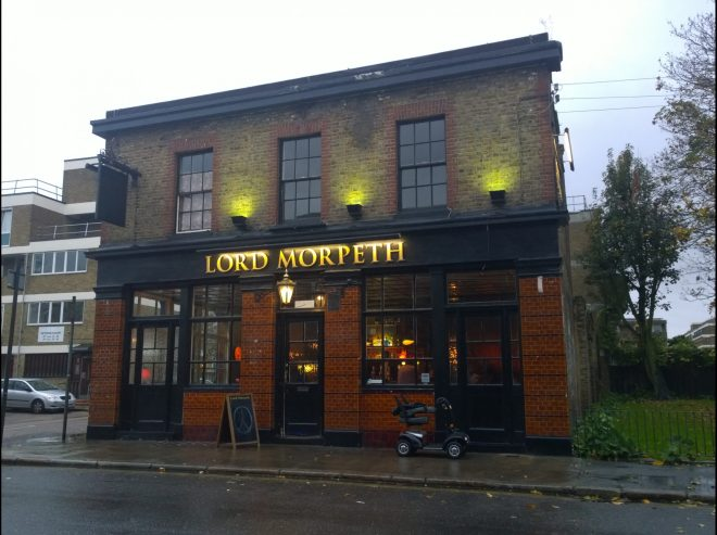 The Lord Morpeth pub