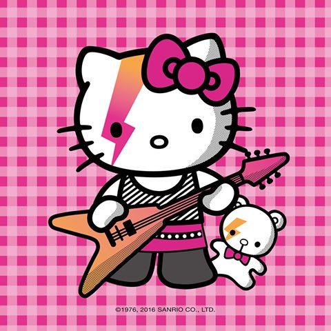 bowie hello kitty