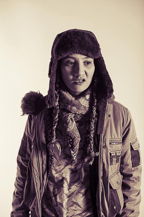 Portrait of Weardoe, a street artist from Chiswick