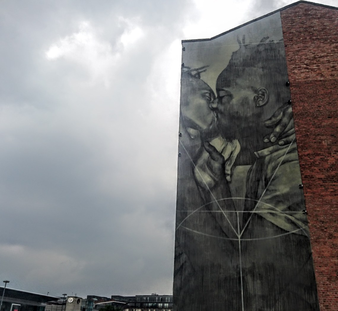 chekos art david lynch mural manchester