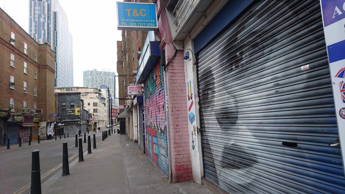 guido van helden petticoat lane market
