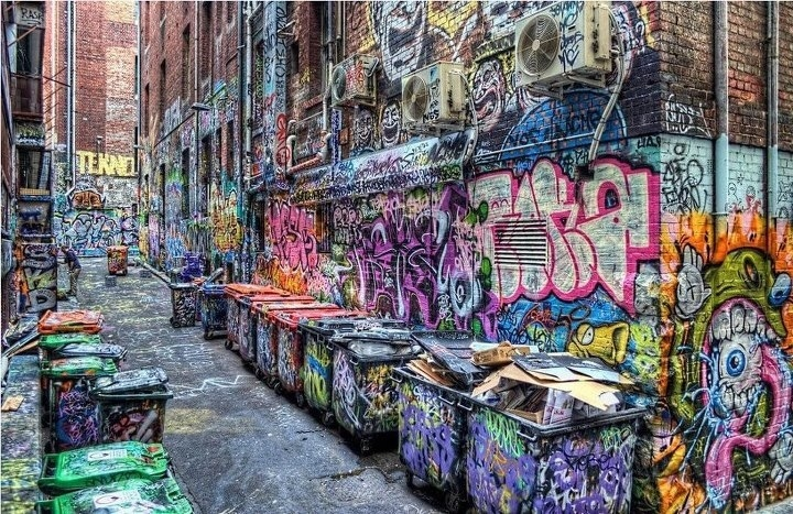 graffiti alley in michigan is a graffiti hall of fame in america