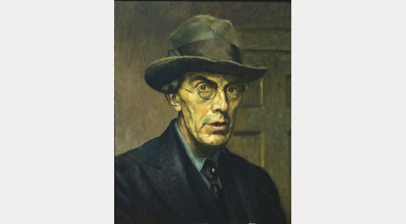 Roger Fry self portrait