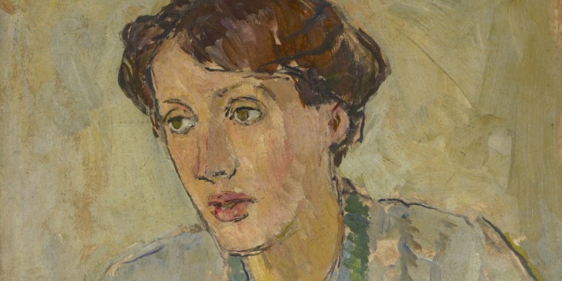 Virginia woolf by Vanessa Bell. Virginia was a key influence on the Bloomsbury Group in London