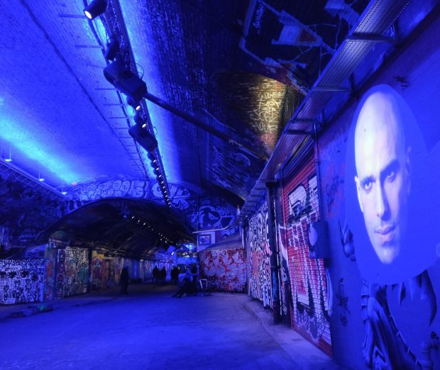 leake street tunnel lumiere