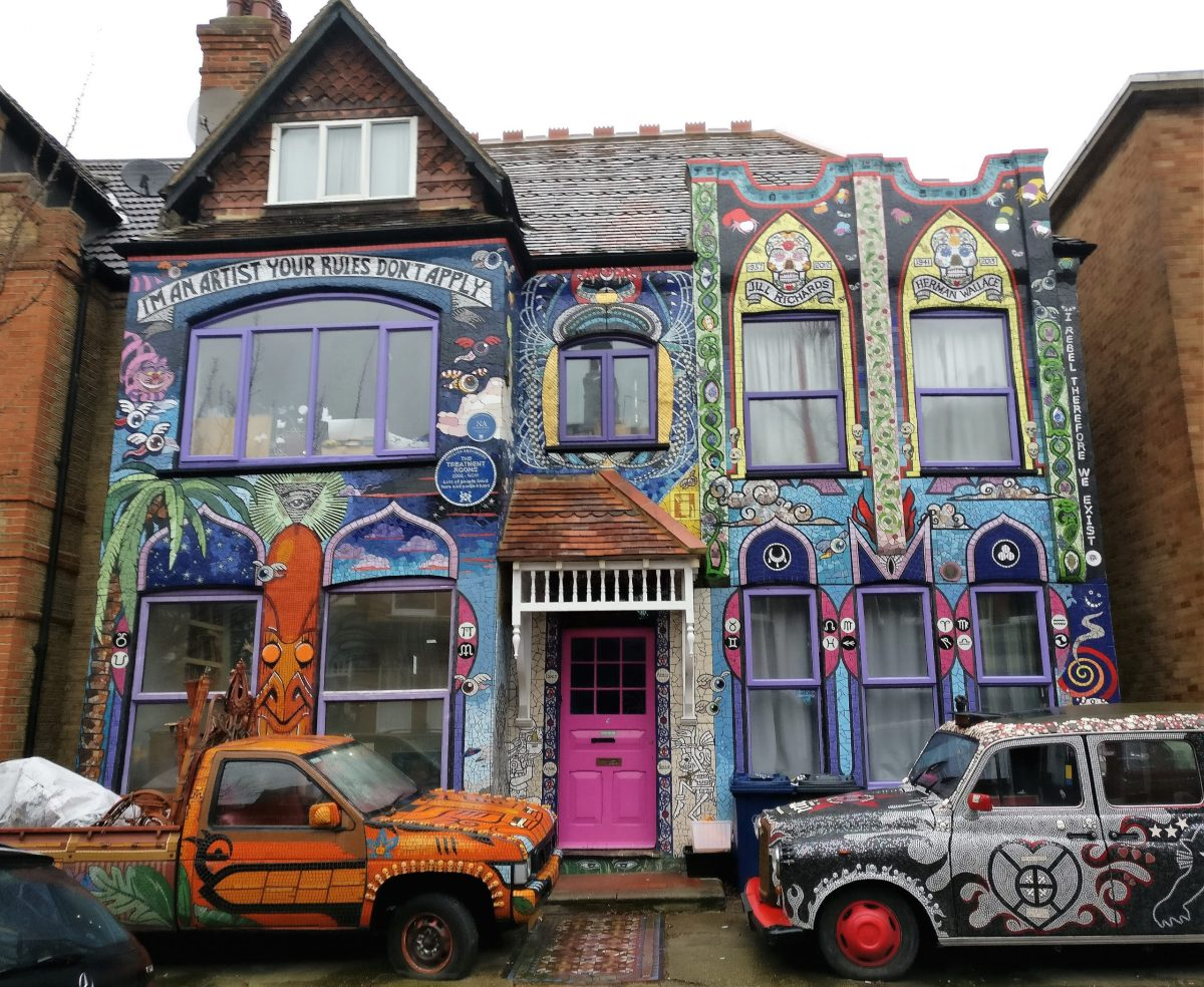 30 Hidden Secrets of Carrie Reichardt's extraordinary mosaic house in Chiswick