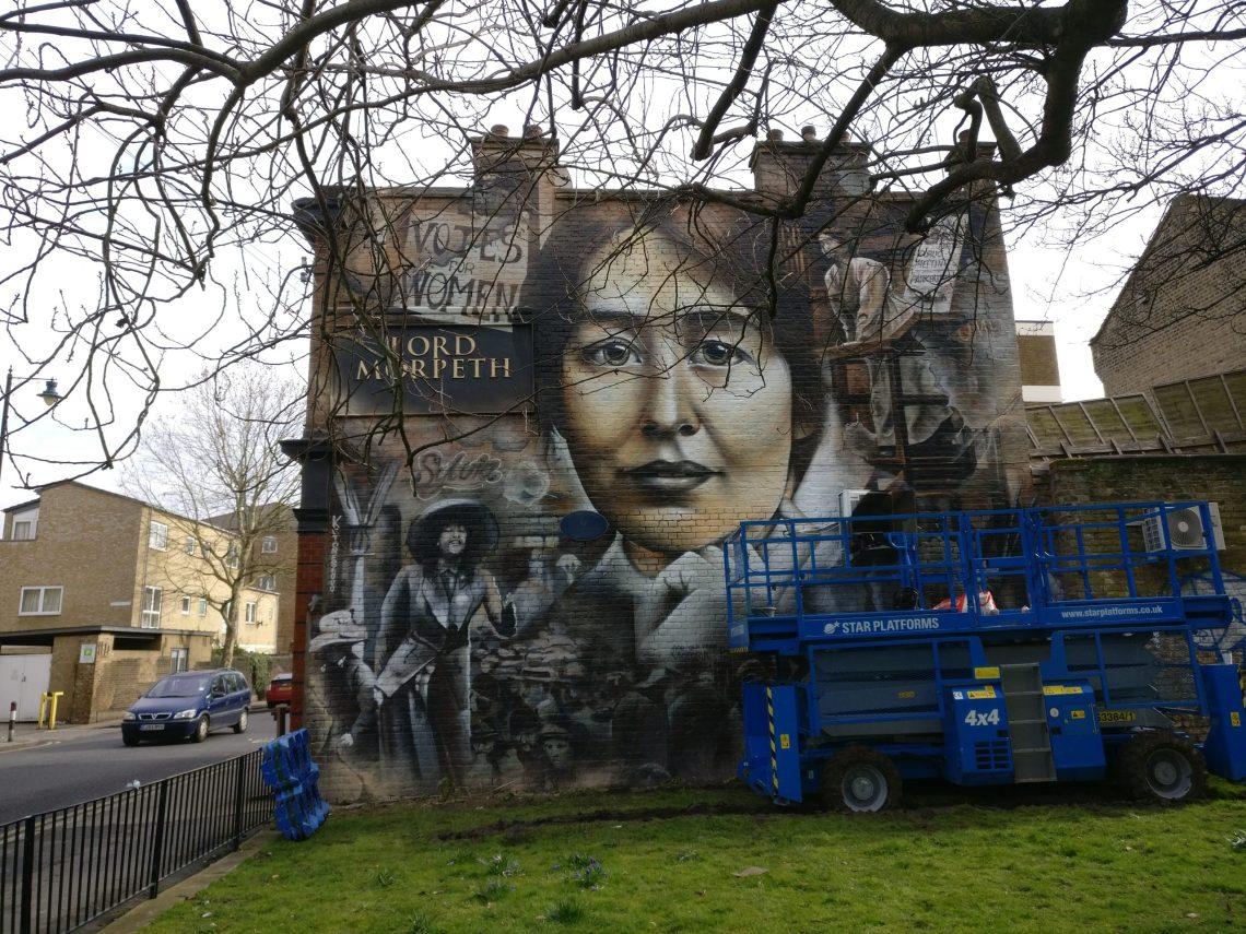 jerome davenport suffragette mural