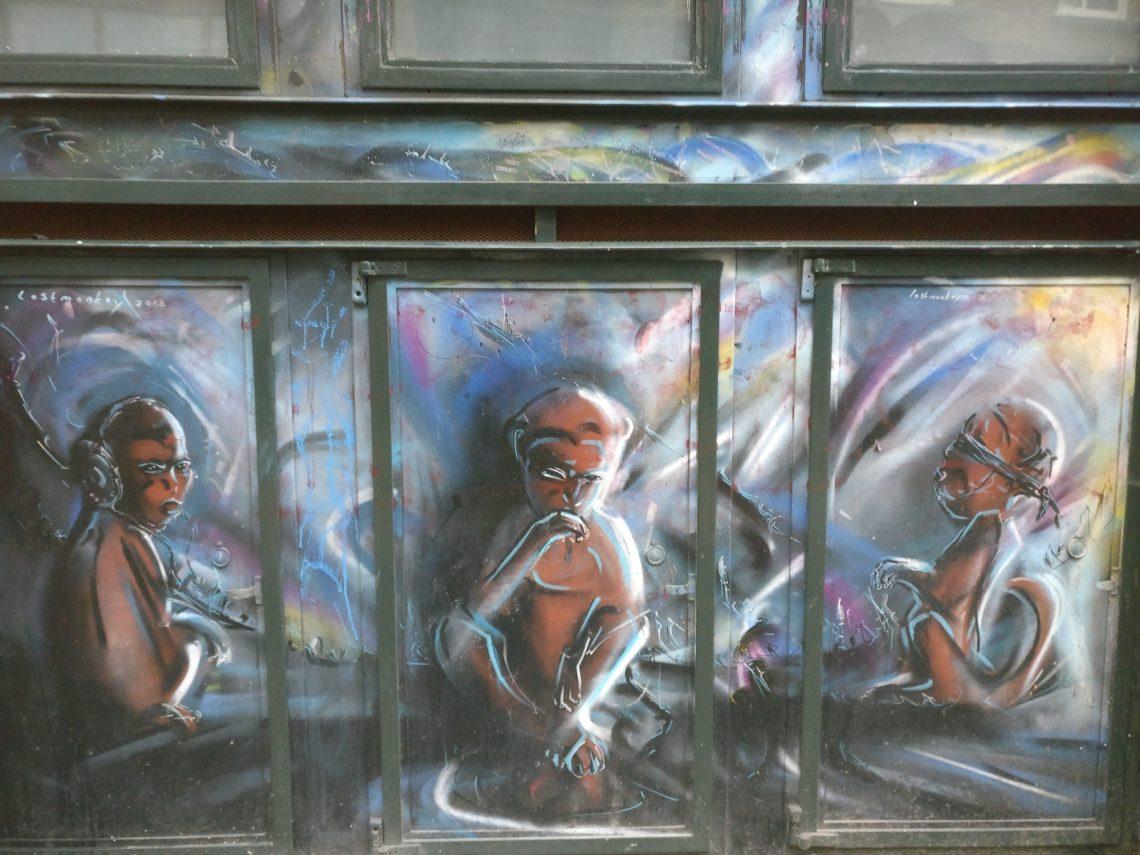 Three Monkeys Lewis Campbell