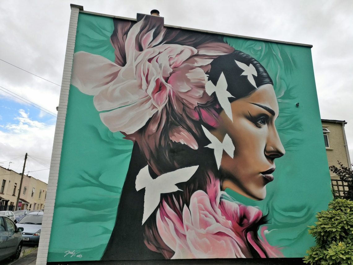 Jody mural at Upfest in 2017