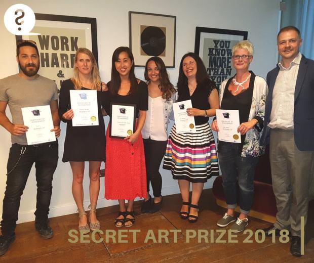 Curious Duke Secret Art Prize 2018