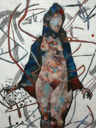 Joseph Loughborough Abstract nude