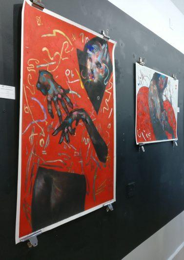 Joseph Loughborough work in the Art of Treason Gallery