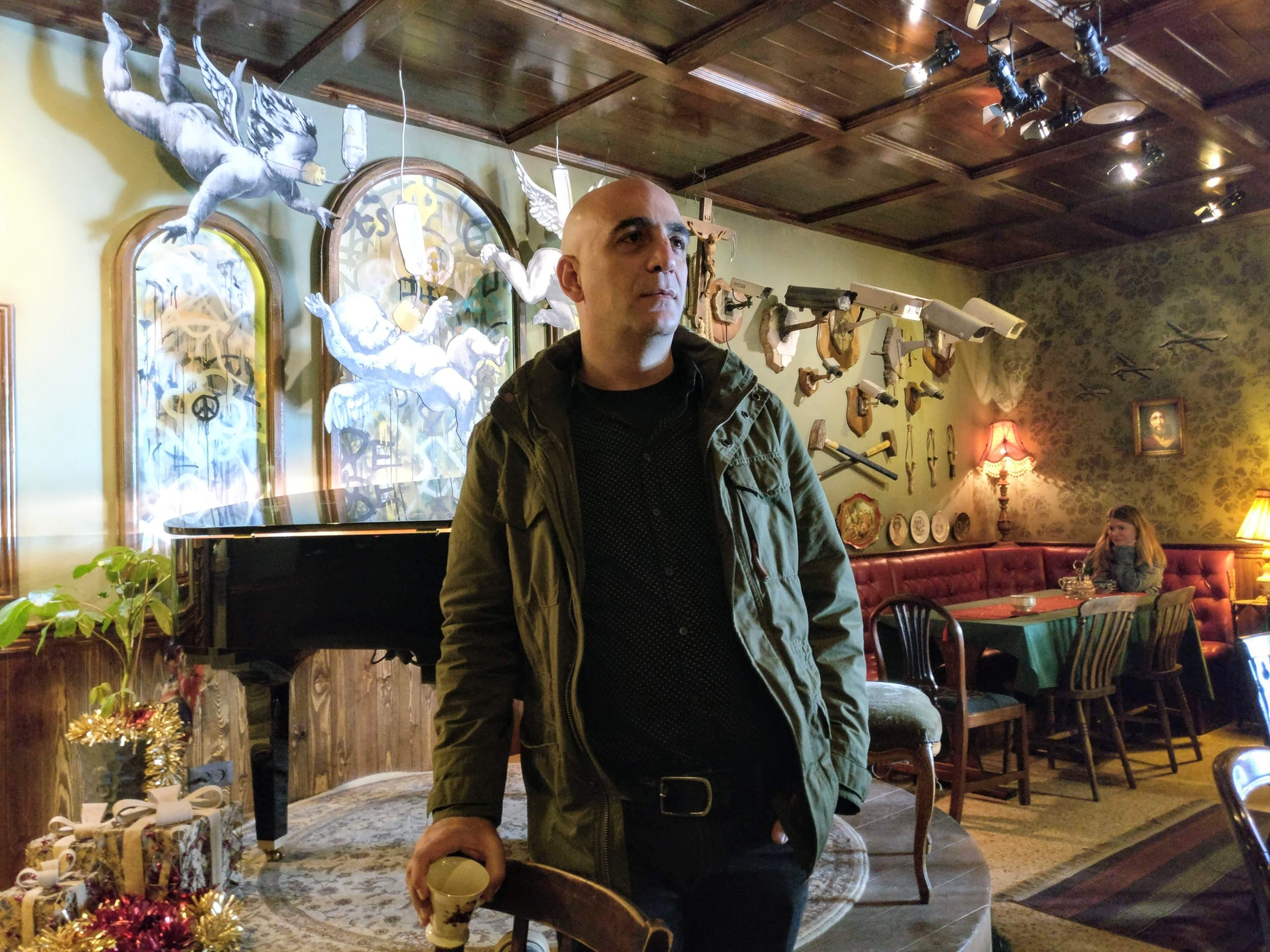 An Interview With Wisam Salsaa The Manager Of The Walled Off Hotel Inspiring City