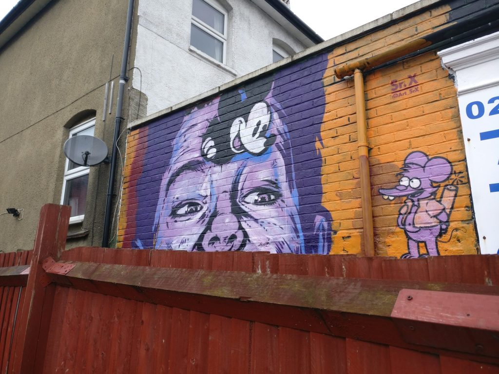 Penge is one of the best places to see street art in London