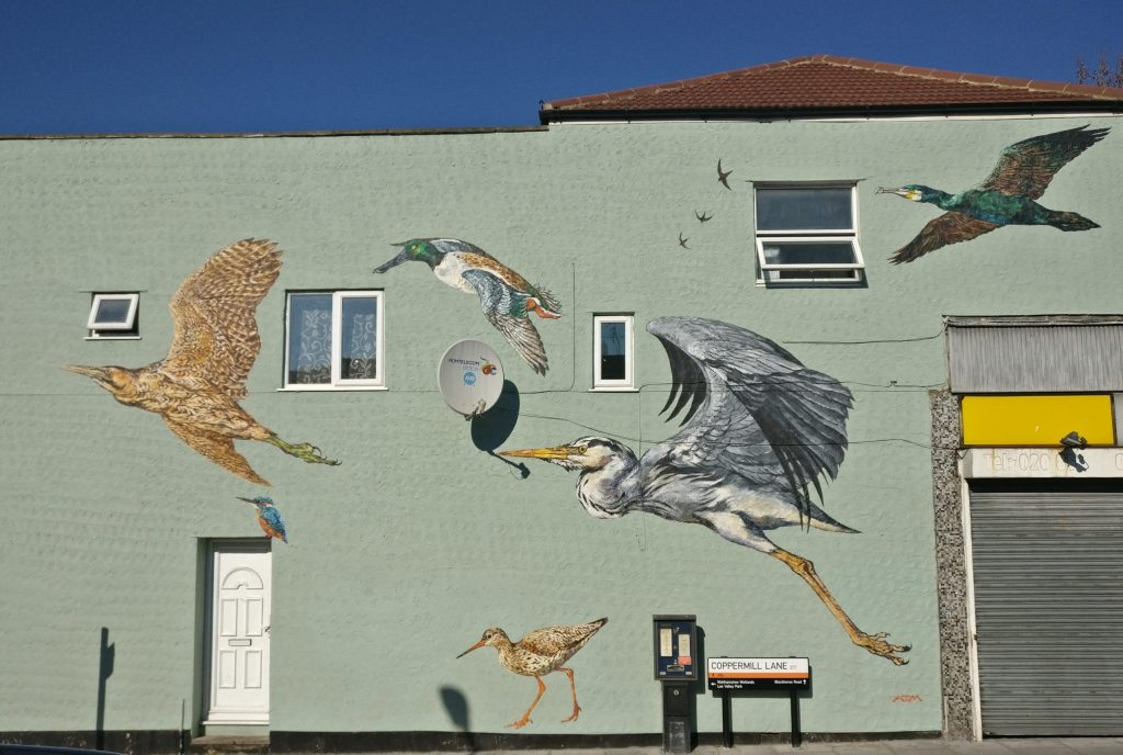 , The Street Art of St James Street in Walthamstow