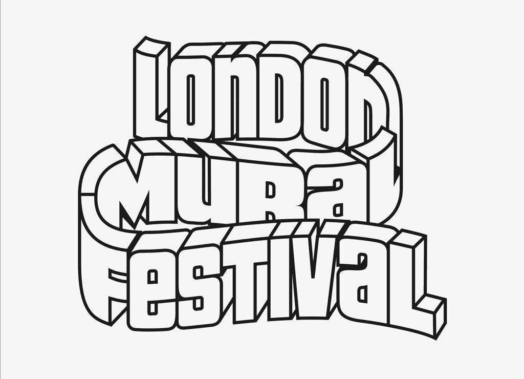 Logo for the London Mural Festival