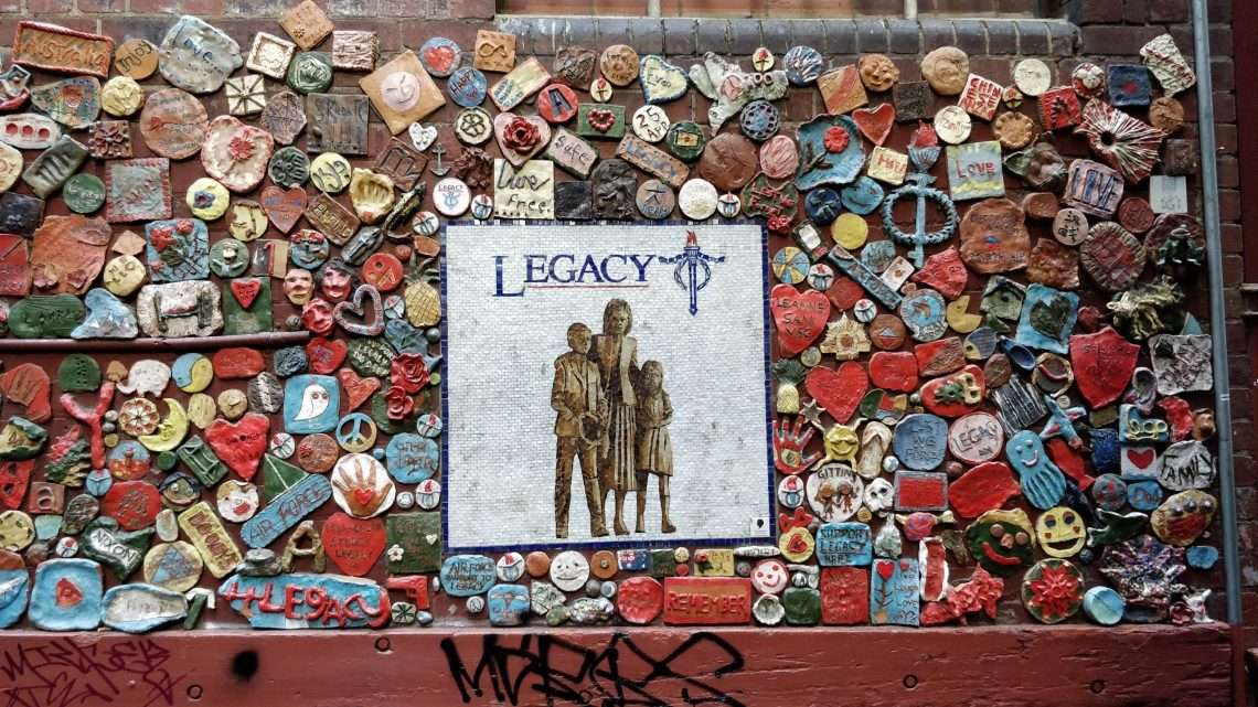 Legacy Community Mural on Drewery Lane