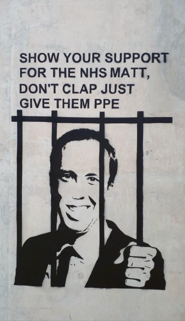 Give them PPE Matt Hancock by John D'oh
