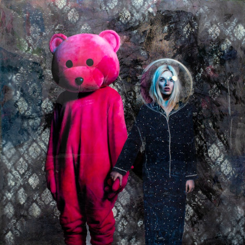 Cosmic Dust featuring the pink bear