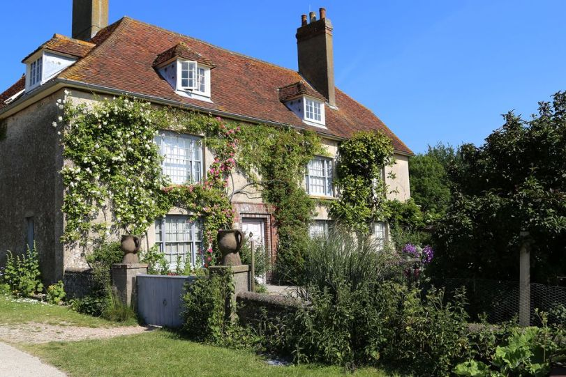 Charleston Farmhouse in Sussex a key location of the Bloomsbury Group