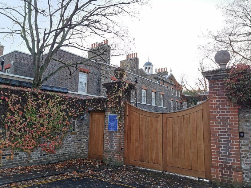 Aubrey House was a key location in the history of Kensington Suffragettes