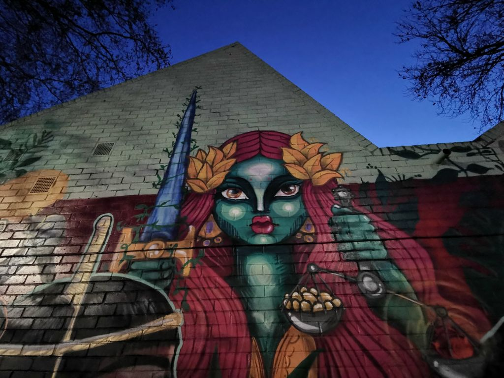 Elno section of wom collective wall in brixton