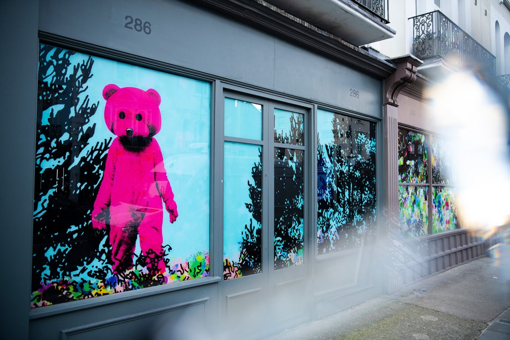 Good Vibrations by LUAP and the Pink Bear in Notting Hill