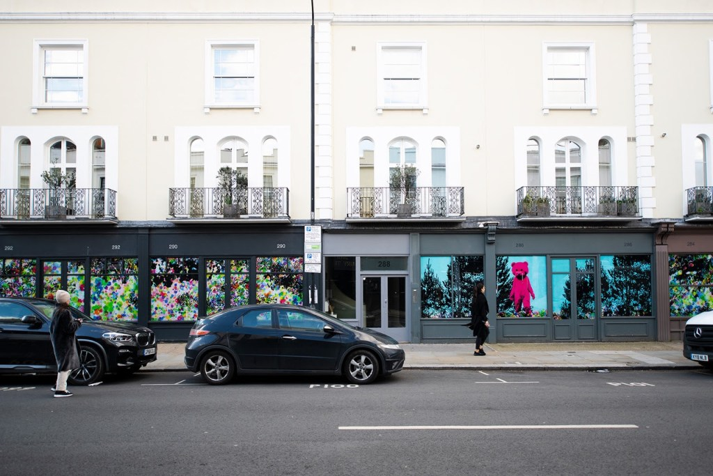 Good Vibrations by LUAP can be found at 284 Westbourne Grove in Notting Hill