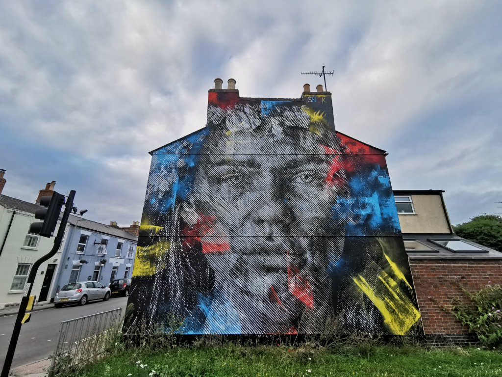 Street art in Cheltenham is on our list of things to do in and around Gloucester