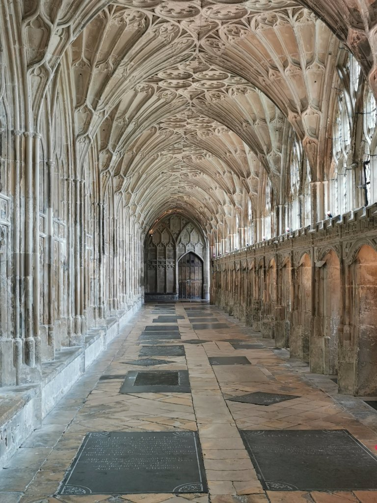The cloisters in Gloucester Cathedral are must 'to do' if you love Harry Potter