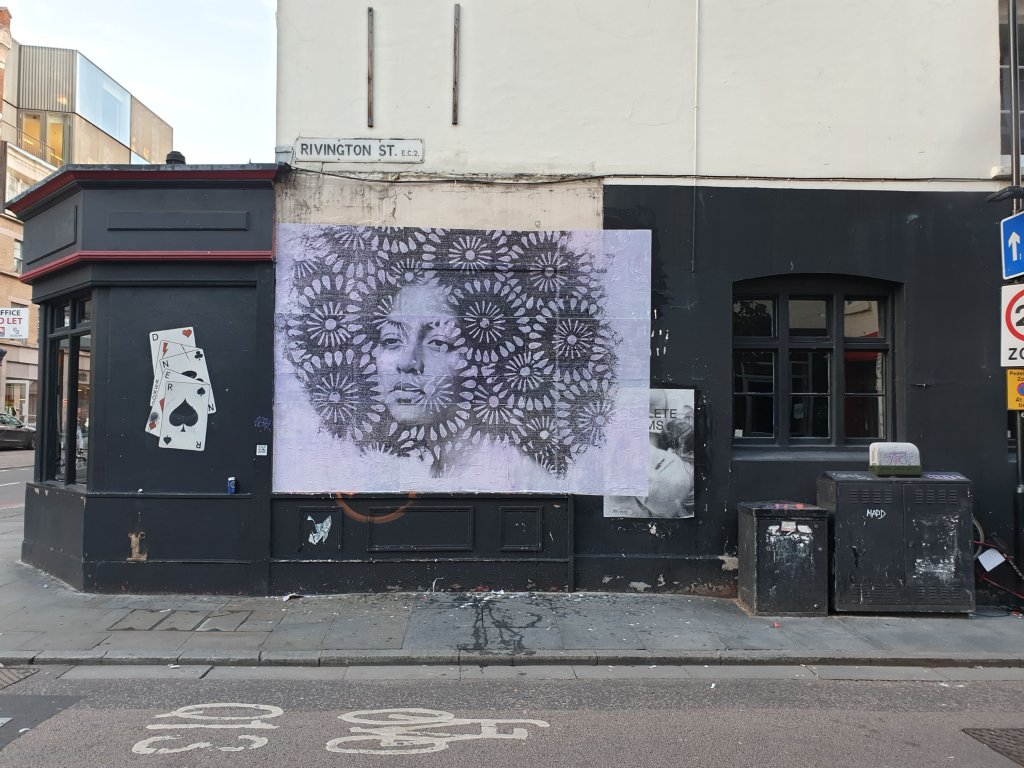 Poster art by Donk, a London based street artist