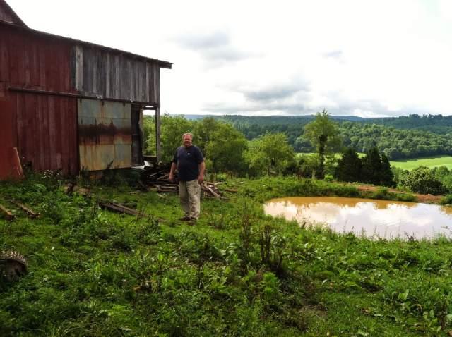 Eric on Price's Farm