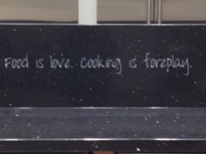quote food is love