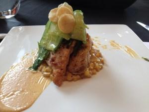 Chicken breast corn poblano