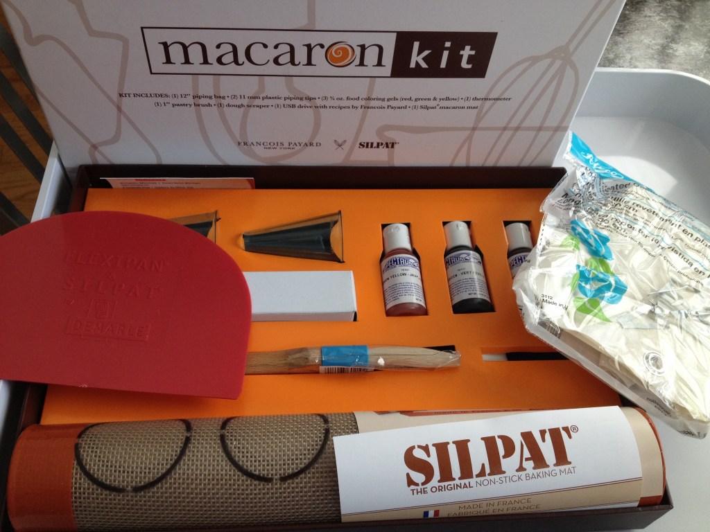 Inspiring Kitchen macaron kit Payard Silpat cookies recipes