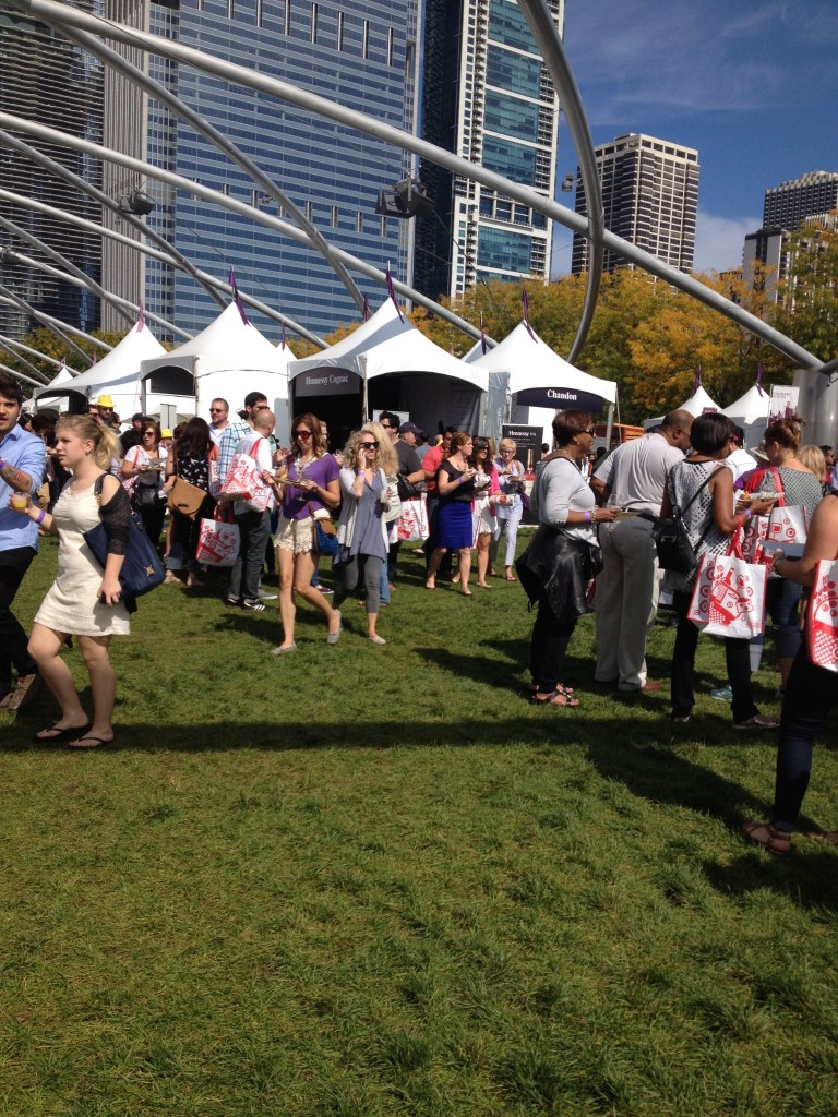 Inspiring Kitchen Chicago Gourmet attendance food