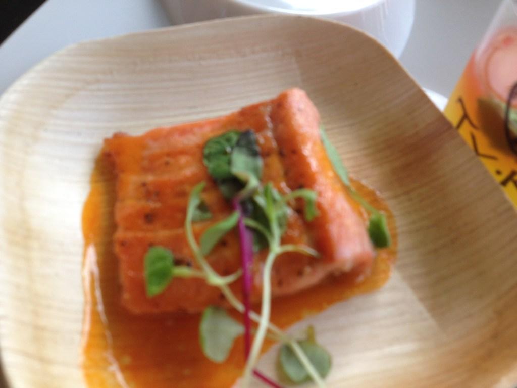 Inspiring Kitchen Chicago Gourmet Salmon food