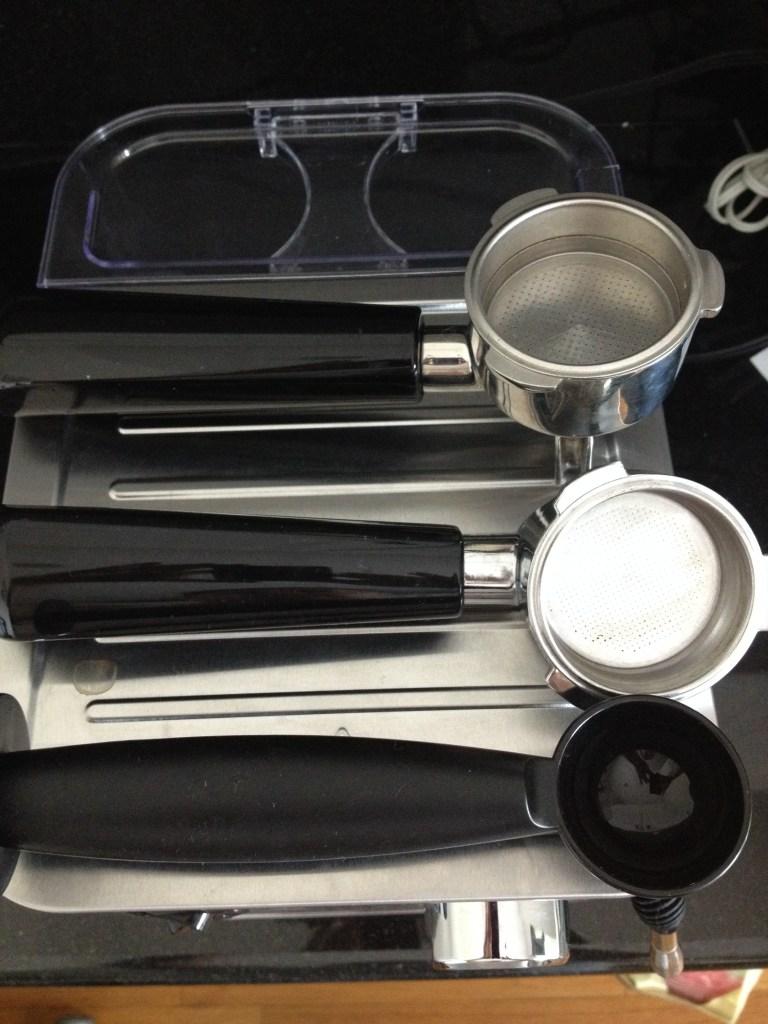 Inspiring Kitchen Capresso ECPRO espresso machine tools