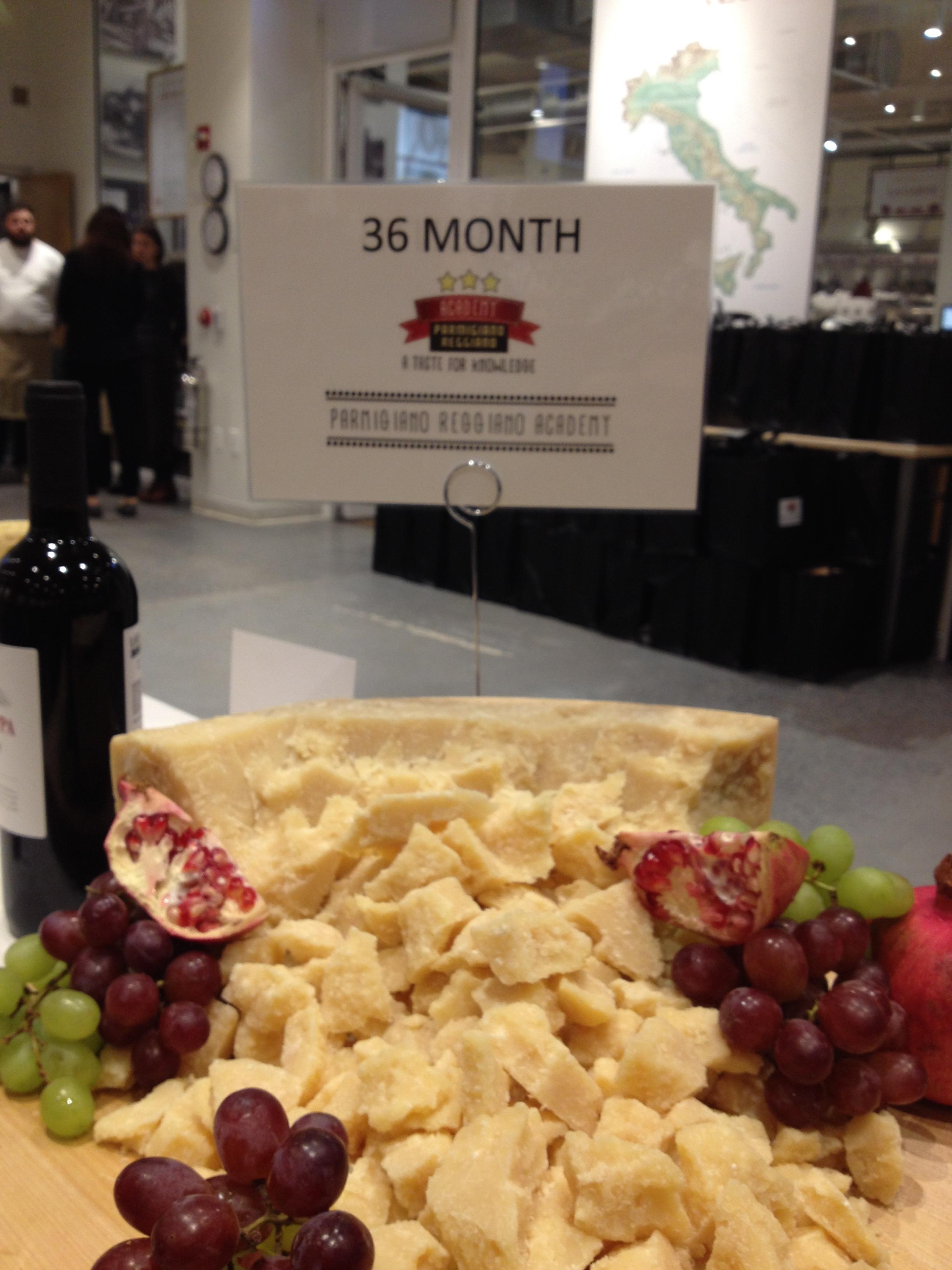 Inspiring Kitchen 36 month Parmigiano Reggiano