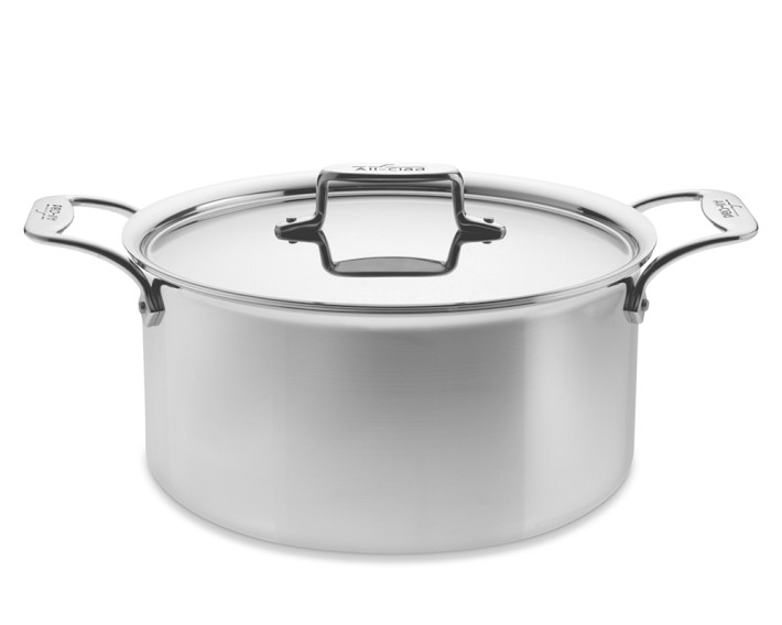 Inspiring Kitchen All Clad 8 qt stock pot cookware