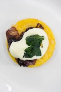 Inspiring Kitchen butternut squash polenta with parmigiano