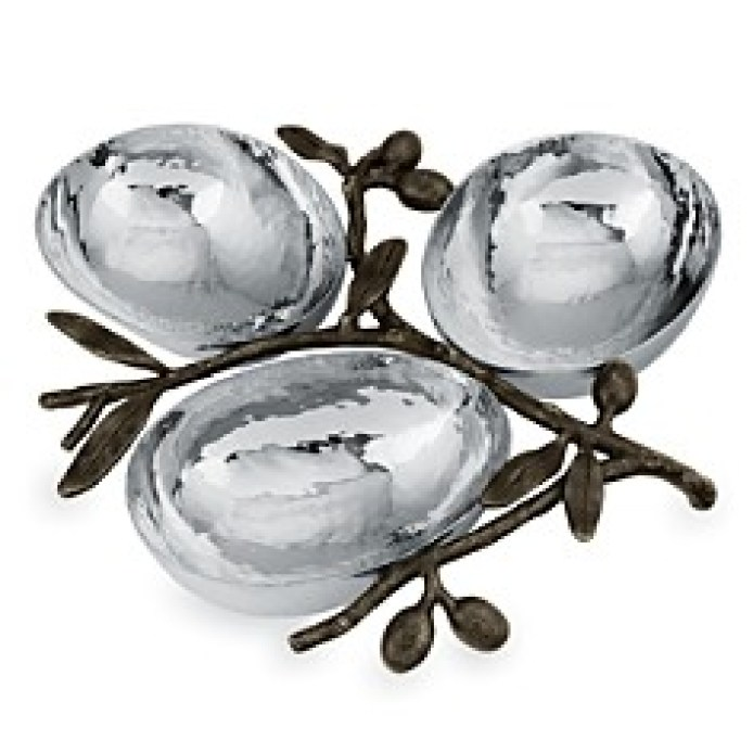 Inspiring Kitchen olive bowls Michael Aram gift guide