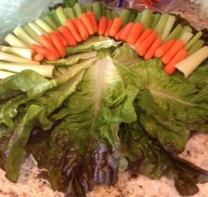Inspiring Kitchen veggie turkey step 1