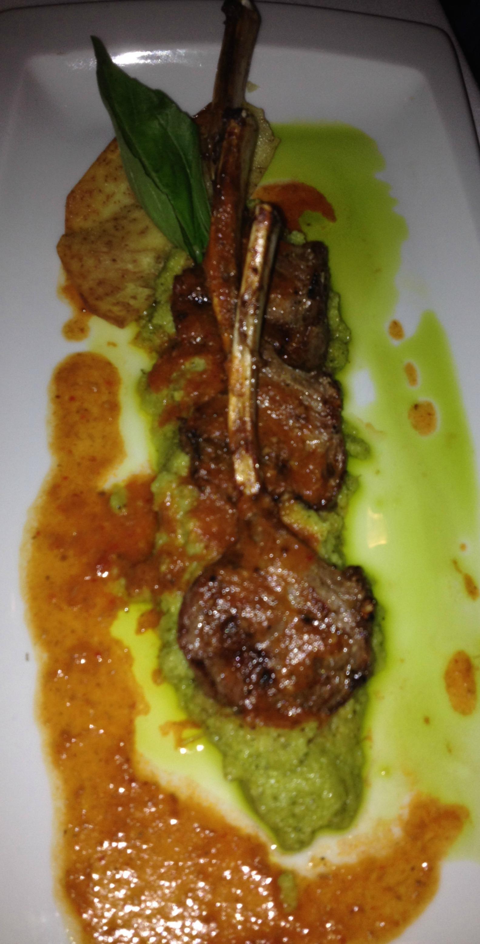 Inspiring Kitchen Casa Velas pork chop picm dining